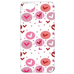 Crafts Chevron Cricle Pink Love Heart Valentine Apple Iphone 5 Classic Hardshell Case