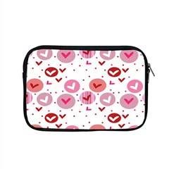 Crafts Chevron Cricle Pink Love Heart Valentine Apple Macbook Pro 15  Zipper Case by Alisyart
