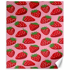 Fruitb Red Strawberries Canvas 20  X 24