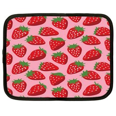 Fruitb Red Strawberries Netbook Case (xxl)