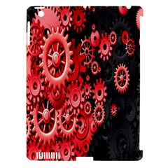 Gold Wheels Red Black Apple Ipad 3/4 Hardshell Case (compatible With Smart Cover) by Alisyart