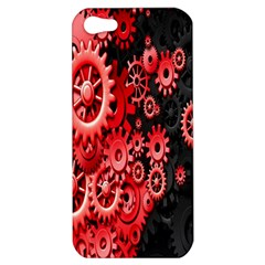 Gold Wheels Red Black Apple Iphone 5 Hardshell Case