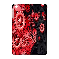 Gold Wheels Red Black Apple Ipad Mini Hardshell Case (compatible With Smart Cover) by Alisyart