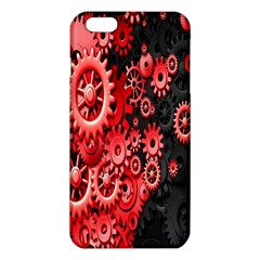 Gold Wheels Red Black Iphone 6 Plus/6s Plus Tpu Case by Alisyart