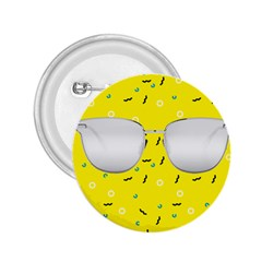 Glasses Yellow 2 25  Buttons