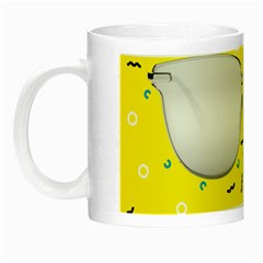 Glasses Yellow Night Luminous Mugs
