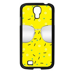 Glasses Yellow Samsung Galaxy S4 I9500/ I9505 Case (black) by Alisyart
