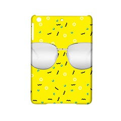 Glasses Yellow Ipad Mini 2 Hardshell Cases by Alisyart