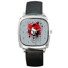 Good Guys Square Metal Watch by lvbart