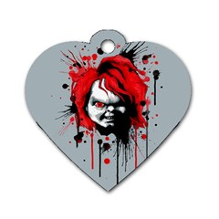 Good Guys Dog Tag Heart (two Sides) by lvbart