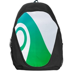 Line Green Wave Backpack Bag
