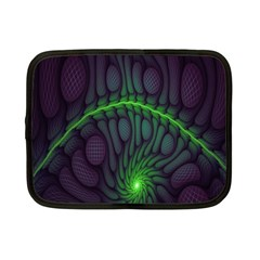 Light Cells Colorful Space Greeen Netbook Case (small)