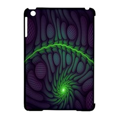 Light Cells Colorful Space Greeen Apple Ipad Mini Hardshell Case (compatible With Smart Cover) by Alisyart