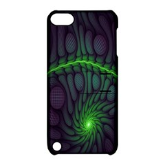 Light Cells Colorful Space Greeen Apple Ipod Touch 5 Hardshell Case With Stand by Alisyart