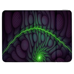 Light Cells Colorful Space Greeen Samsung Galaxy Tab 7  P1000 Flip Case