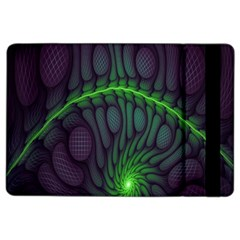 Light Cells Colorful Space Greeen Ipad Air 2 Flip
