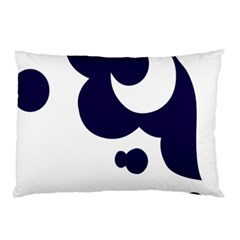 Month Blue Pillow Case