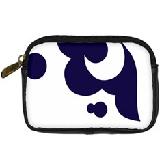 Month Blue Digital Camera Cases by Alisyart