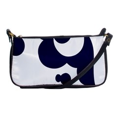 Month Blue Shoulder Clutch Bags