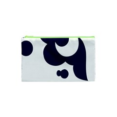 Month Blue Cosmetic Bag (xs)
