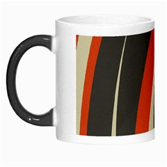 Mixing Gray Orange Circles Morph Mugs