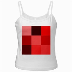 Red Flag Plaid Ladies Camisoles