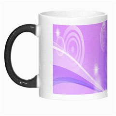 Purple Circle Line Light Morph Mugs