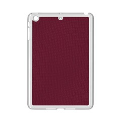 Camouflage Seamless Texture Maps Red Beret Cloth Ipad Mini 2 Enamel Coated Cases