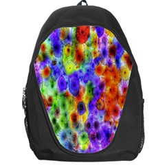 Green Jellyfish Yellow Pink Red Blue Rainbow Sea Purple Backpack Bag by Alisyart