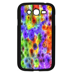 Green Jellyfish Yellow Pink Red Blue Rainbow Sea Purple Samsung Galaxy Grand Duos I9082 Case (black)
