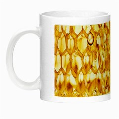 Honeycomb Fine Honey Yellow Sweet Night Luminous Mugs