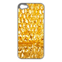 Honeycomb Fine Honey Yellow Sweet Apple Iphone 5 Case (silver) by Alisyart