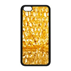 Honeycomb Fine Honey Yellow Sweet Apple Iphone 5c Seamless Case (black) by Alisyart