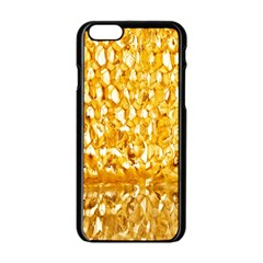 Honeycomb Fine Honey Yellow Sweet Apple Iphone 6/6s Black Enamel Case by Alisyart