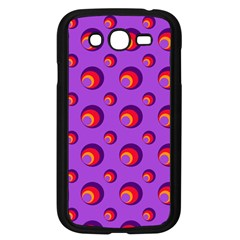Scatter Shapes Large Circle Red Orange Yellow Circles Bright Samsung Galaxy Grand Duos I9082 Case (black) by Alisyart