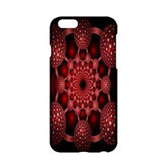 Lines Circles Red Shadow Apple Iphone 6/6s Hardshell Case by Alisyart