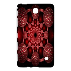Lines Circles Red Shadow Samsung Galaxy Tab 4 (7 ) Hardshell Case