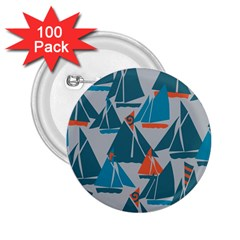 Ship Sea Blue 2 25  Buttons (100 Pack)