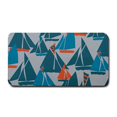 Ship Sea Blue Medium Bar Mats by Alisyart