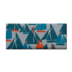 Ship Sea Blue Cosmetic Storage Cases