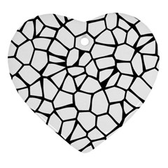 Seamless Cobblestone Texture Specular Opengameart Black White Ornament (heart) by Alisyart