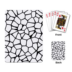 Seamless Cobblestone Texture Specular Opengameart Black White Playing Card by Alisyart