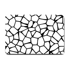 Seamless Cobblestone Texture Specular Opengameart Black White Small Doormat  by Alisyart