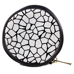 Seamless Cobblestone Texture Specular Opengameart Black White Mini Makeup Bags by Alisyart