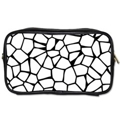 Seamless Cobblestone Texture Specular Opengameart Black White Toiletries Bags 2 Side by Alisyart