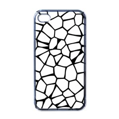 Seamless Cobblestone Texture Specular Opengameart Black White Apple Iphone 4 Case (black) by Alisyart