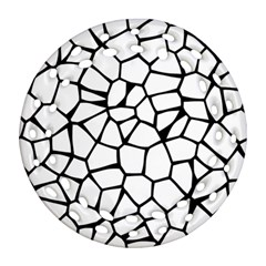 Seamless Cobblestone Texture Specular Opengameart Black White Round Filigree Ornament (two Sides) by Alisyart