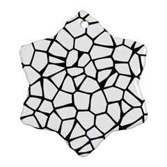 Seamless Cobblestone Texture Specular Opengameart Black White Snowflake Ornament (two Sides) by Alisyart