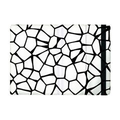 Seamless Cobblestone Texture Specular Opengameart Black White Apple Ipad Mini Flip Case by Alisyart
