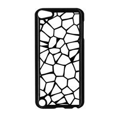 Seamless Cobblestone Texture Specular Opengameart Black White Apple Ipod Touch 5 Case (black) by Alisyart